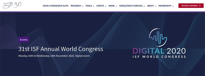 31st ISF World Congress