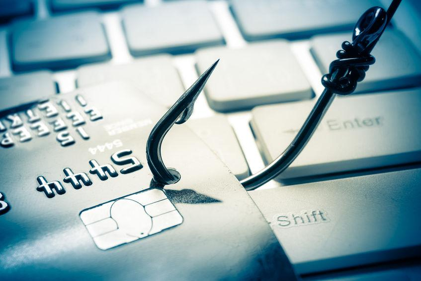 credit card theft from phishing attack