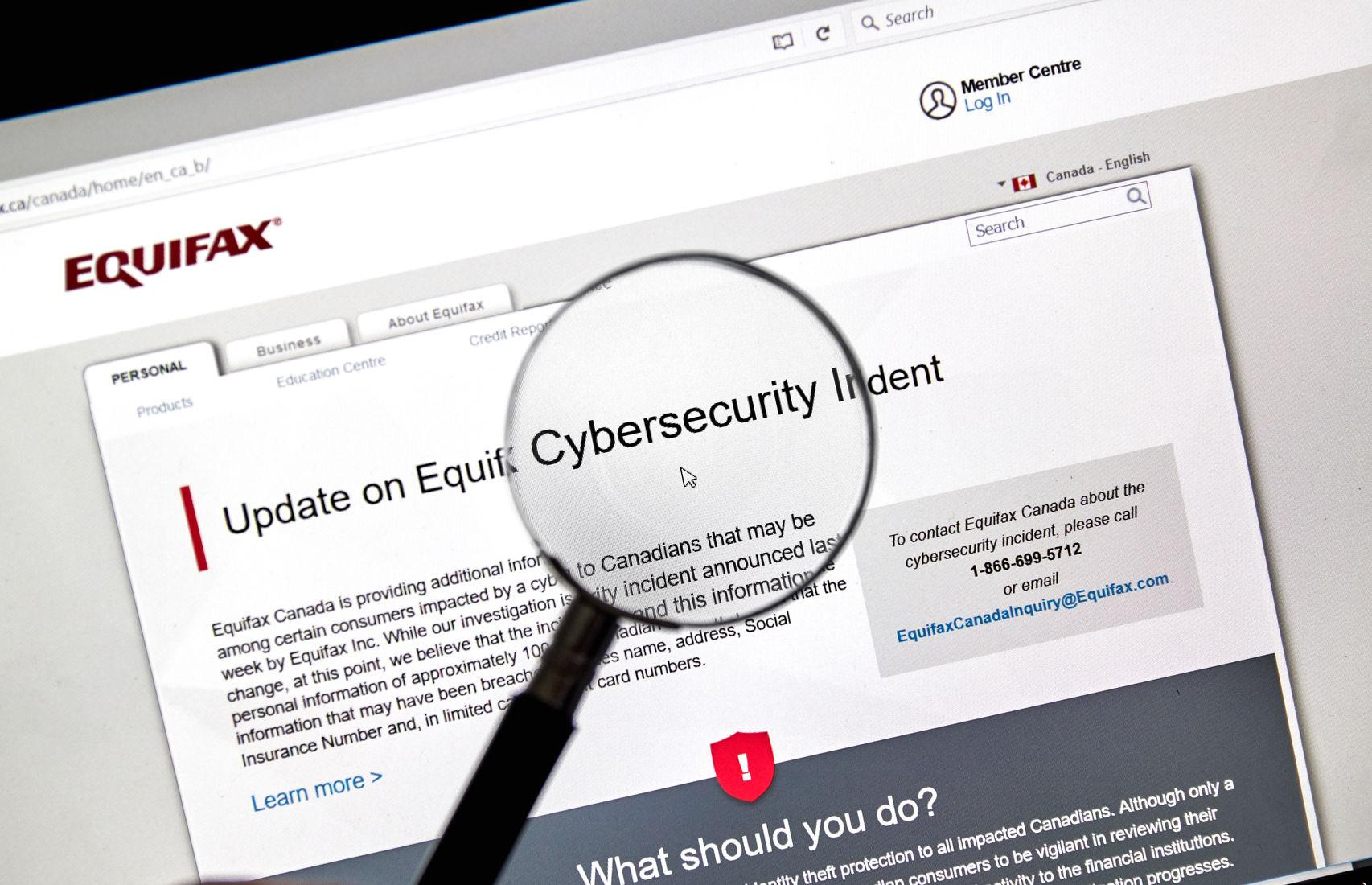 equifax claim form canada  New Revelations and Website Weirdness Push Equifax from Bad ...