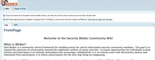 BSides Community Security Conferences