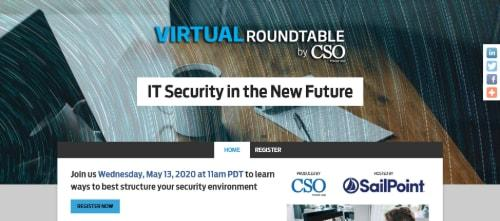 CSO Virtual Roundtable: IT Security Central Region