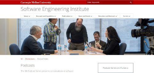 Carnegie Mellon University Software Engineering Institute Podcast Series