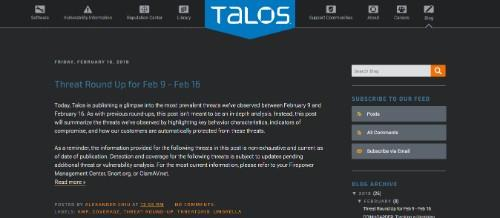 Cisco Talos