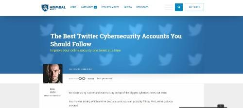 The Best Twitter Cybersecurity Accounts You Should Follow