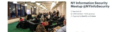 NY Information Security Meetup (NYIS)