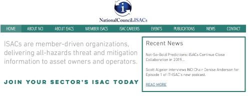 National Council of ISACs