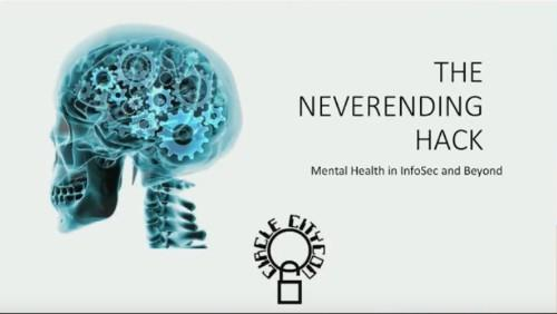 The Never Ending Hack Mental Health in InfoSec Community-Danny Akacki