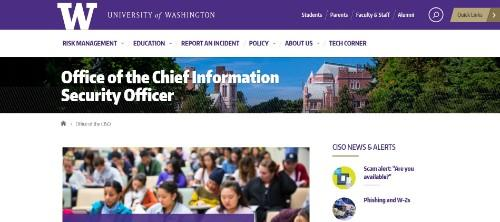 University of Washington - Office of the CISO