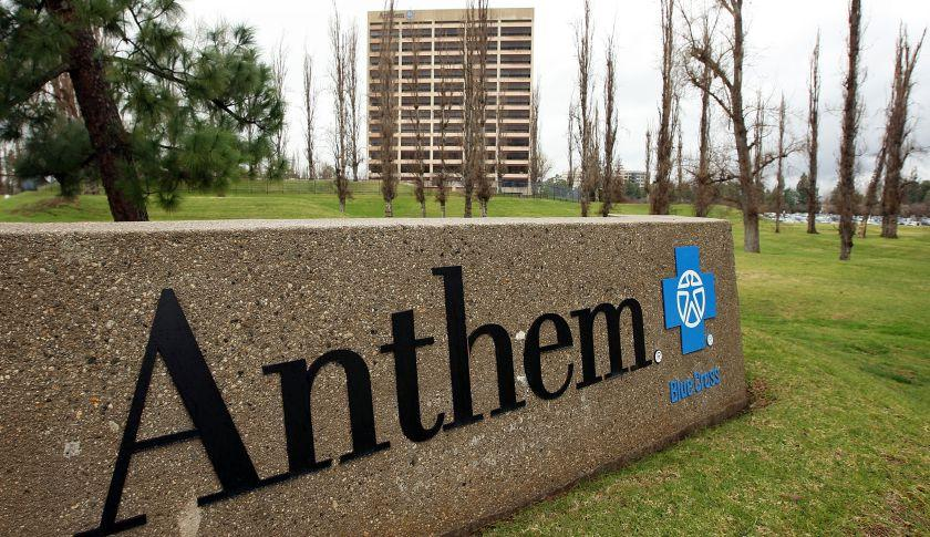 Anthem Healthcare sign